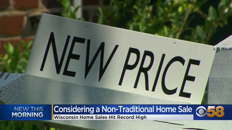 Home sales hit record high in Wisconsin, experts explain why some are choosing non-traditional sales