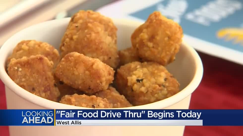 "Next best thing to the Wisconsin State Fair begins with ""Fair Food Drive-Thru"""