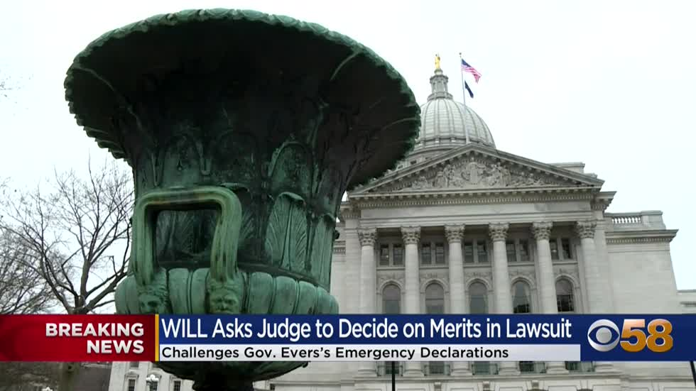 WILL files motion in Polk County lawsuit on Gov. Evers' emergency...