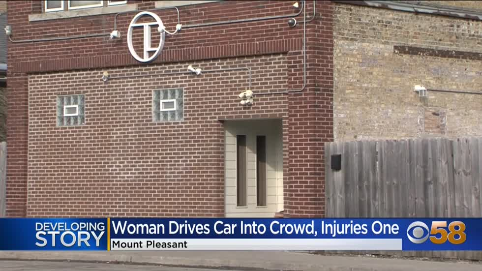 Woman who got kicked out of Mt. Pleasant bar drove car into...
