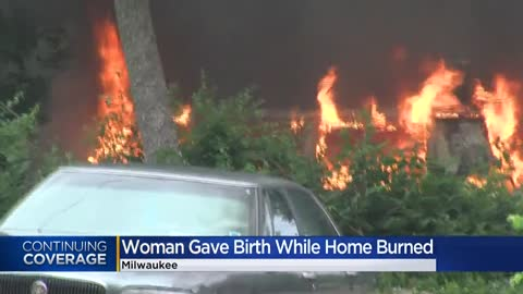 Woman gave birth hours before learning her home at 40th and Lloyd was set on fire and destroyed