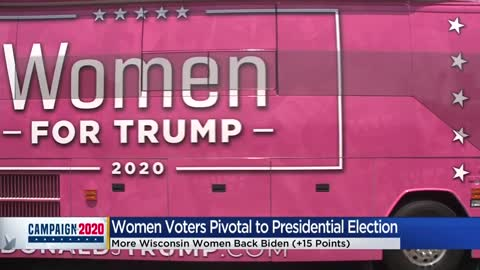 Trump campaign kicks off national 'Women for Trump' bus tour...