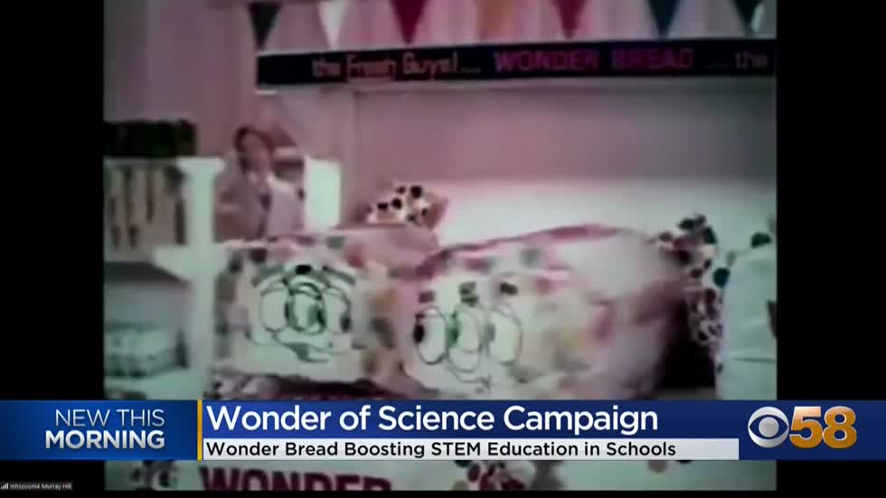 Wonder Bread marking 100th anniversary through 'Wonder of Science'...