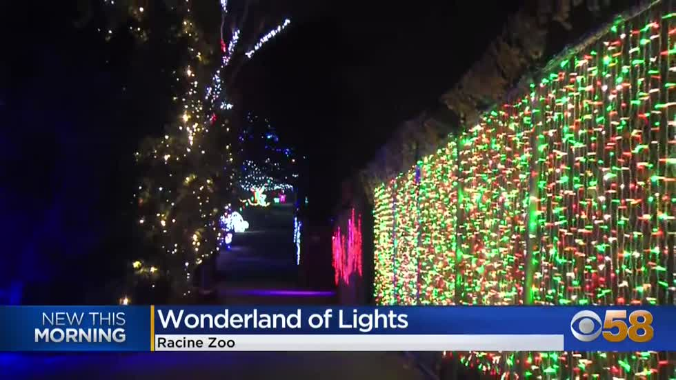 Wonderland of Lights comes to the Racine Zoo in January