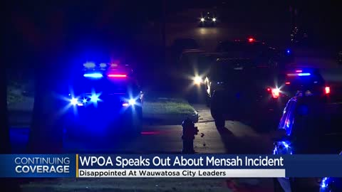 Wauwatosa Peace Officers Association poll shows lack of confidence...