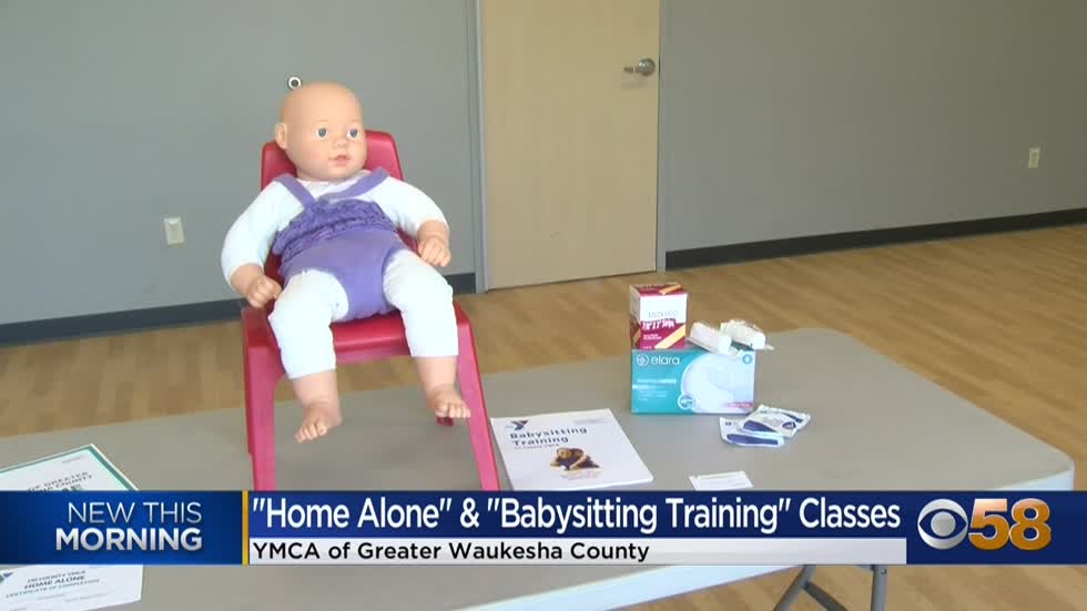 "YMCA of GWC offering ""Home Alone"" & ""Babysitting Training""..."