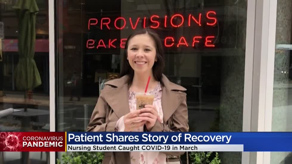 'You're not invincible:' 25-year-old CNA, nursing student shares story after recovering from COVID-19