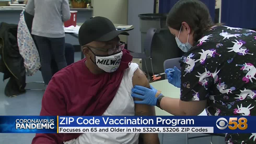 Milwaukee County launches ZIP code program to help with vaccine...