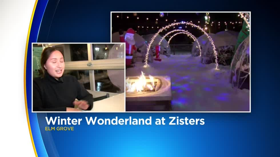 Heated Igloos comes to Zisters Restaurant Friday