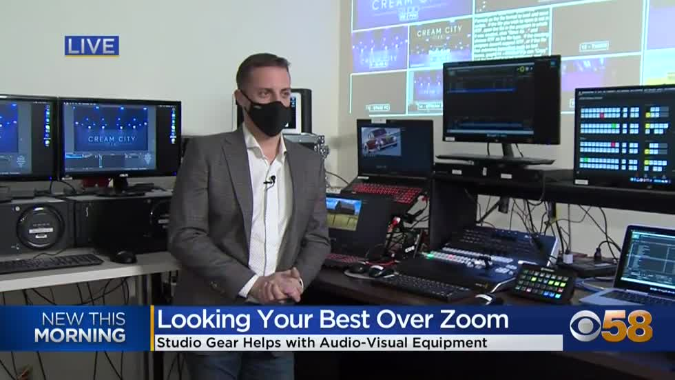 "Milwaukee's ""Studio Gear"" creates the perfect ""zoom rooms""..."