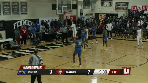 Game of the Week: Simeon vs Fenwick