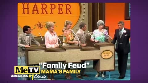 Mama's Family goes on ''Family Feud'