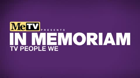 In Memoriam | TV People We Lost in 2020
