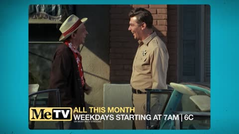 Watch Mayberry R.F.D. and color Andy Griffith all this month!
