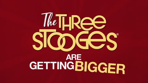 Watch two hours of The Three Stooges every Saturday at 6PM