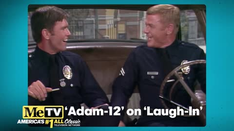 Malloy and Reed of Adam-12 on Laugh-In