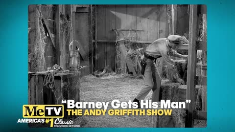 Barney gets his man!