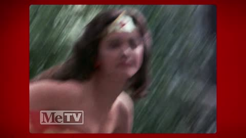 Watch Lynda Carter execute her first stunt as Wonder Woman herself!