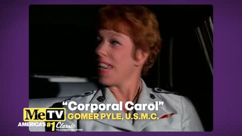 Carol Burnett has a 'date' with Gomer Pyle!