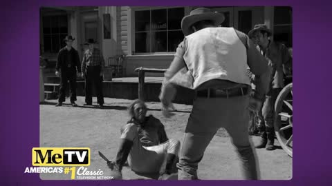 The roughest fight in Gunsmoke history as seen in ''Buffalo Man''