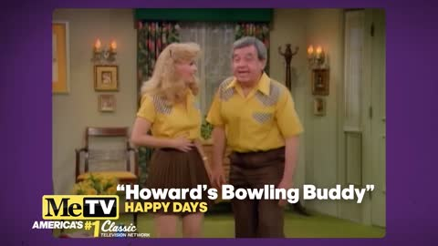 Tom Bosley's real wife played his bowling buddy on Happy Days