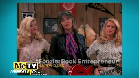 Suzi Quatro performs on Happy Days!