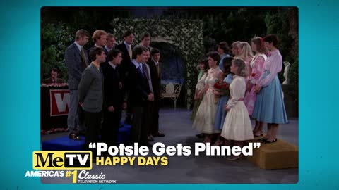 Anson Williams sings with future wife Lorrie Mahaffey on Happy Days