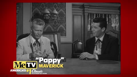 James Garner plays his own father in this episode of Maverick!