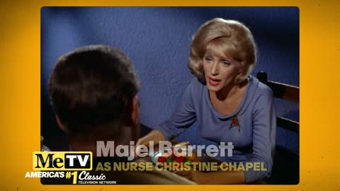 Did you recognize Majel Barrett in all her Star Trek Original...