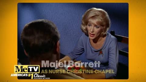 Did you recognize Majel Barrett in all her Star Trek Original Series Roles?