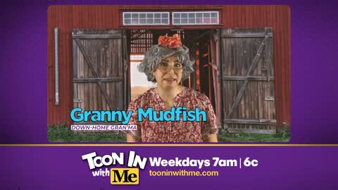 Granny Mudfish stops in for a visit!