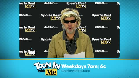 Catch Toon In With Me's new segment Sports Beat!