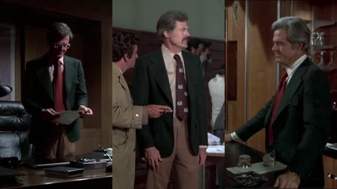 Robert Culp's Green Blazer on Columbo