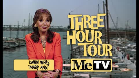 Watch MeTV's Three Hour Tour of Gilligan's Island on Sundays...