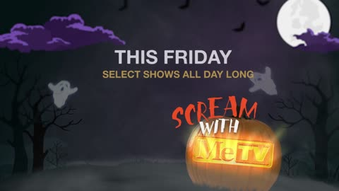 Watch Halloween episodes all day long on Friday, October 30, on MeTV