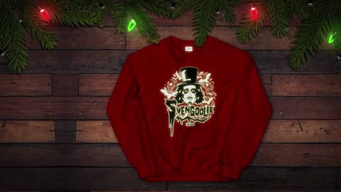 It's Svengoolie Holiday Gear!