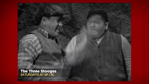 Watch The Three Stooges Saturdays 6PM | 5C