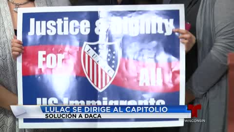 Batalla del DREAM Act lleva voluntarios a Washington para convencer a representantes