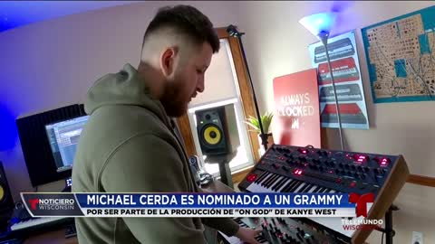 Latino local es nominado a un Grammy por su coolaboración en...