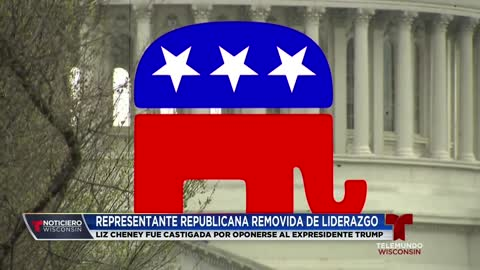 Liz Cheney es destituida por republicanos en el Congreso