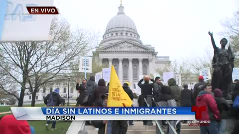 Día sin Latinos e Inmigrantes en Madison