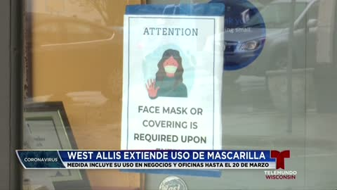 West Allis no tendrá un mandato de mascarillas separado