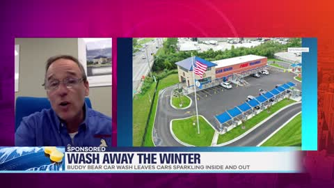 Wash Away Winter at Buddy Bear Car Washes