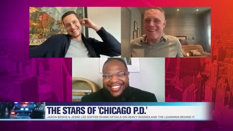 'Chicago P.D.' Stars Jason Beghe & Jesse Lee Soffer Dish on Learning Heavy Scenes
