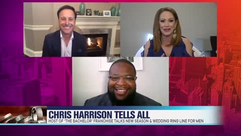 Chris Harrison Dishes On Filming 'The Bachelorette' & New Men's Wedding Ring Line