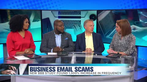 Uptick in Business Email Scams