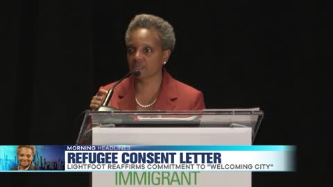 Mayor Signs Consent Letter for Refugees