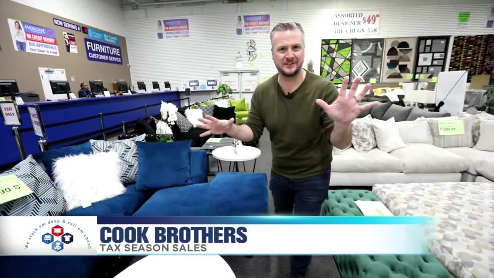 Tax Season S At Cook Brothers, Cook Brothers Living Room Sets