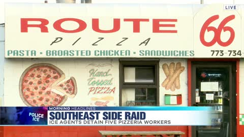 ICE Raids Southeast Side Pizzeria, Arrests 5 Employees
