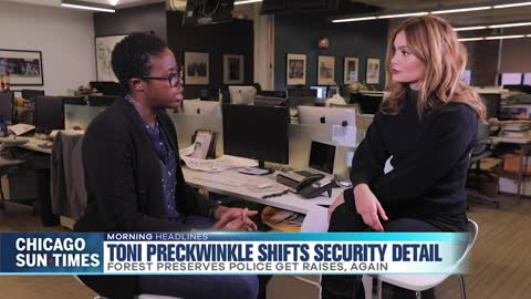 Preckwinkle Shifts Security Detail, With Raises